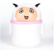 新款时尚迷你杂物桶动物  卡通创意桌面收纳桶 垃圾桶可爱