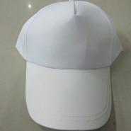 空白帽子 定制公司LOGO 印花5片 鸭舌帽 全棉加厚帆布广告帽