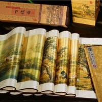 丝绸工艺品 百骏图 中国风特色 商务会议出国礼品送老外礼物