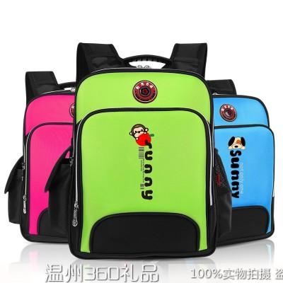 小学生书包3-6年级背包男女童书包台湾新款贵族儿童减负书包防水