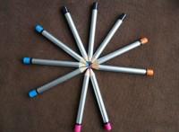 双头彩色铅笔 7英寸彩色铅笔 高级木质铅笔定制 多彩特殊铅笔