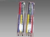 木质双色两头木工铅笔 彩色绘图双头双色铅笔 涂鸦双色彩笔