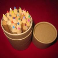 彩色铅笔12色 卡通木头铅笔 学生铅笔活动铅笔小学生学习文具