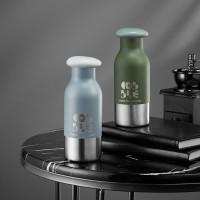 工厂直销 新款保温杯 创意个性不锈钢杯子礼品雕刻LOGO保温杯定制